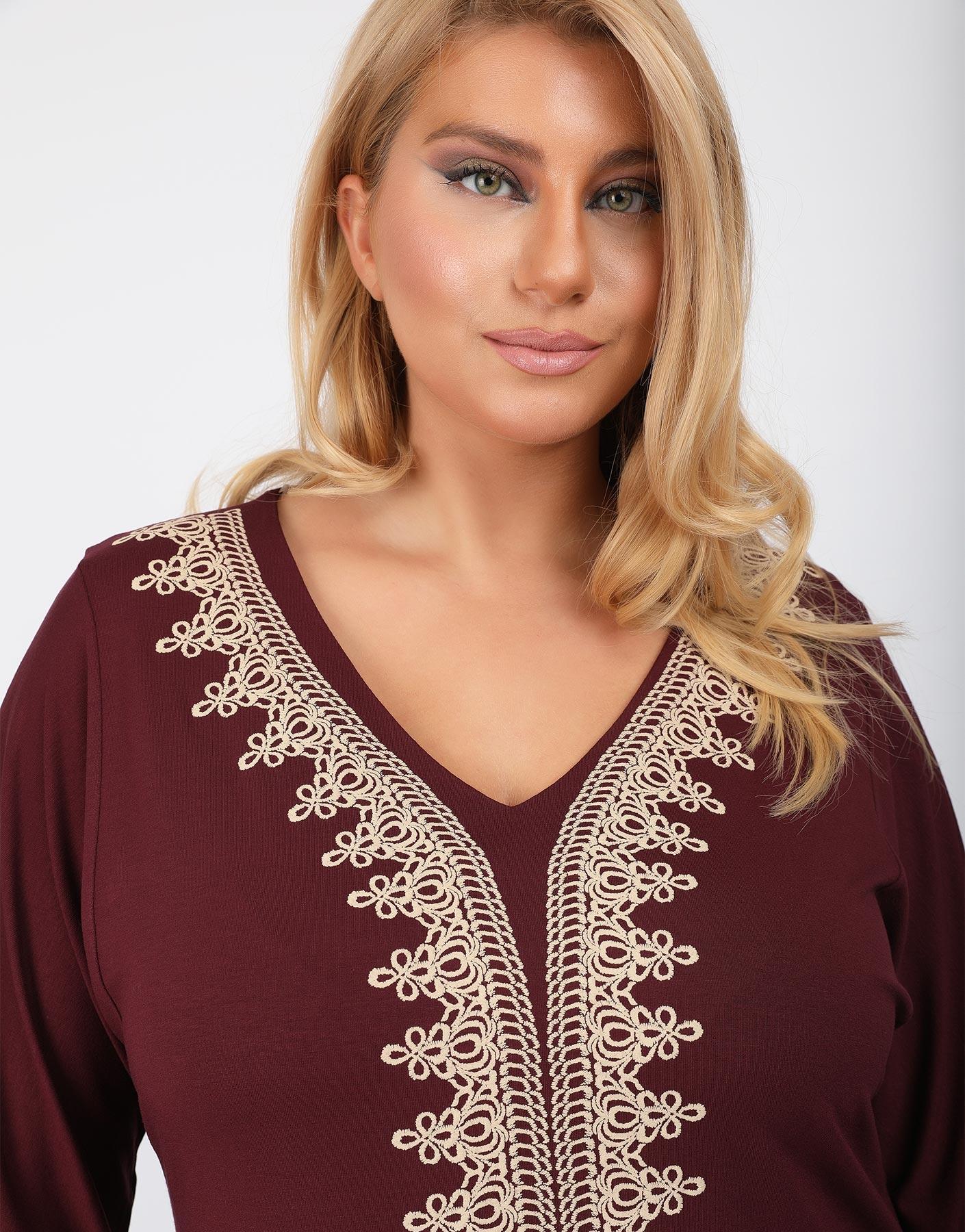 Ethnic style μπλούζα